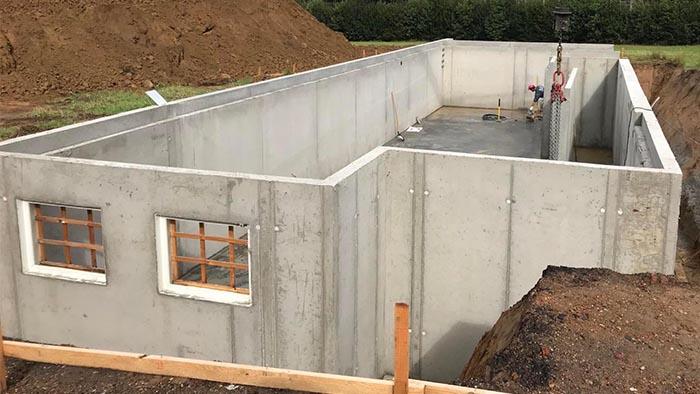 betonkelder gieten